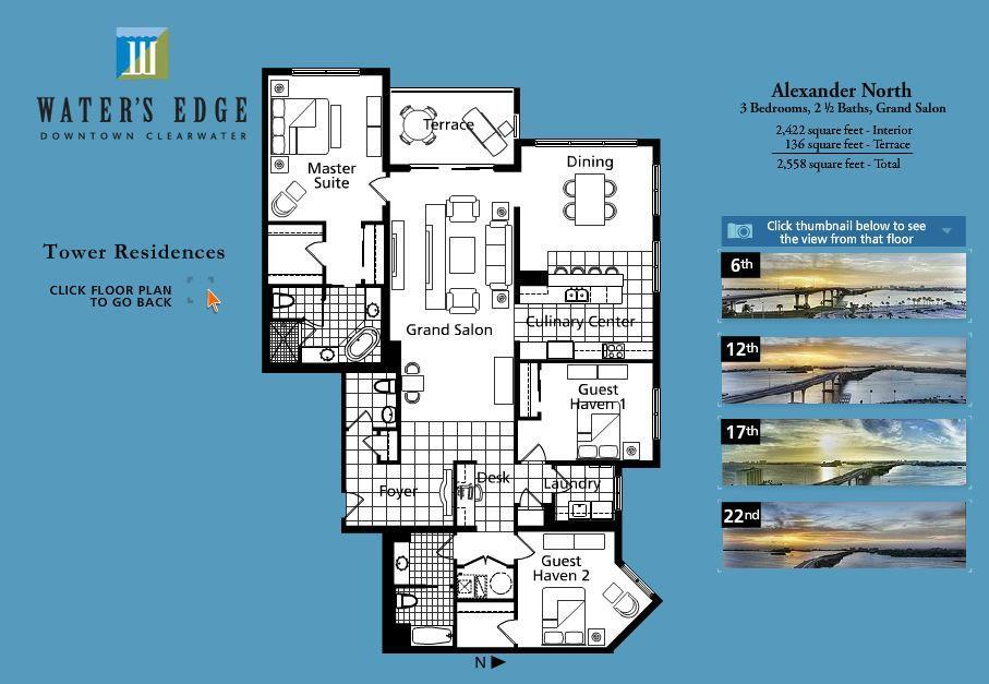 Floor Plans Downtown Clearwater